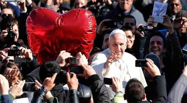 Papa Francisco San Valentin